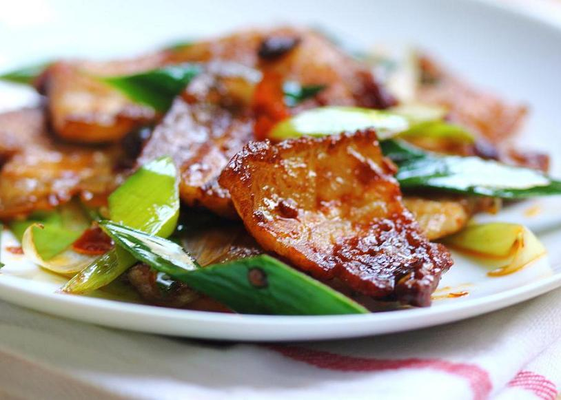Recipe for twice cooked pork