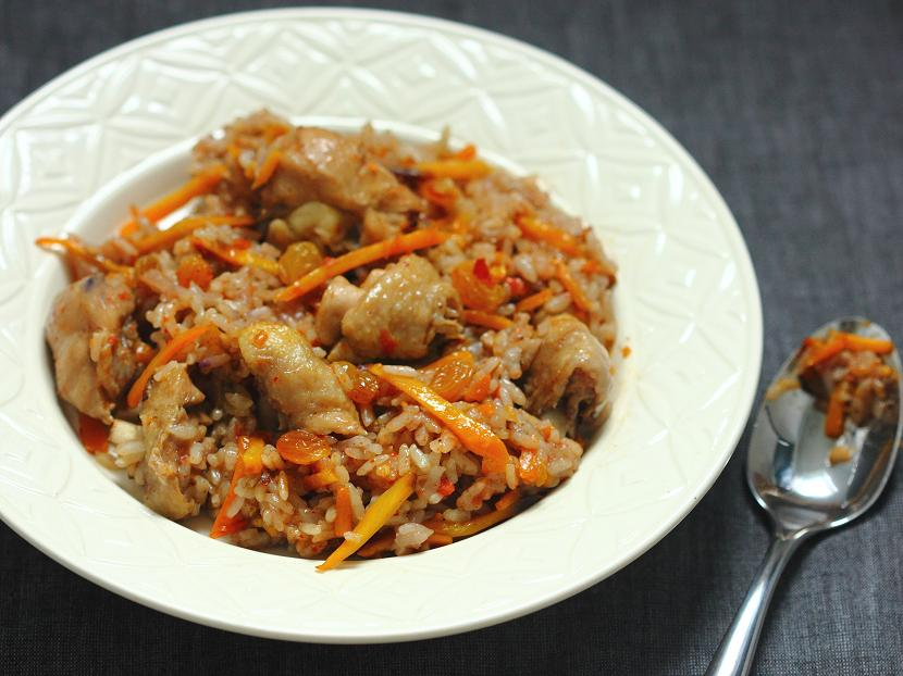 Uyghur style rice with chicken and carrots soy rice fire uyghur style rice with chicken and carrots forumfinder Choice Image