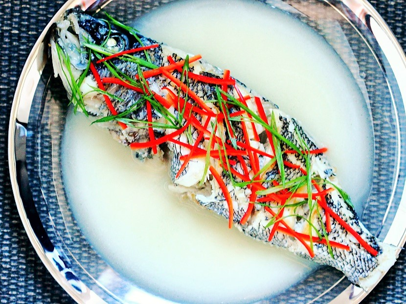 Chinese milky fish soup