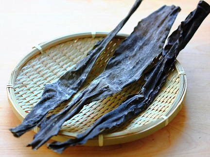 Dried kelp